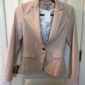 H&M cream/light pink colored blazer